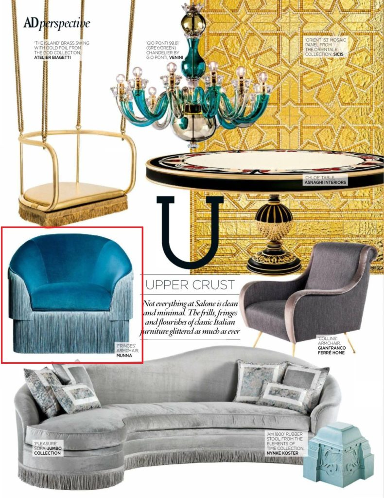 Ad perspective upper crust at ad architectural digest s - Architectural digest home show 2017 ...